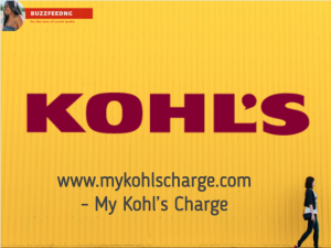 www.mykohlscharge.com - My Kohl's Charge
